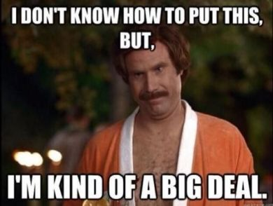 Ron Burgundy meme