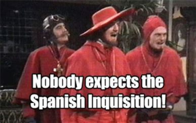 Spanish Inquisition Meme