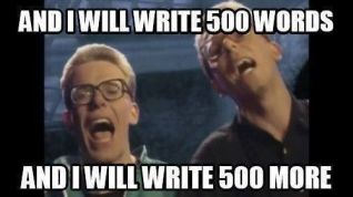 500 words meme