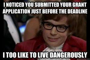 Grant deadline meme
