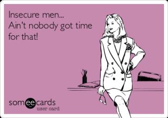 Insecure Men meme