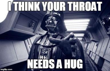 Vader Throat Hug meme