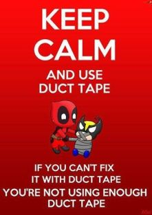 keep calm Deadpool meme
