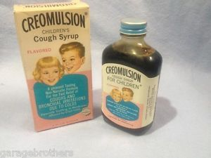 Creamulsion for Children cough medicine