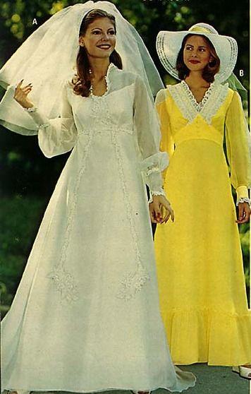 70's Bridesmaid Dresses