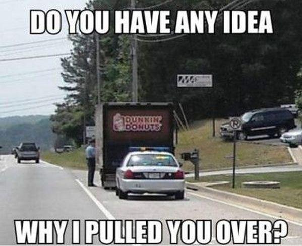Donut Cops Meme