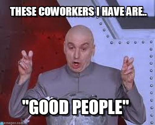 Lunch Coworker Good Peeps Meme