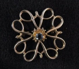 Avon's Sapphire Pin