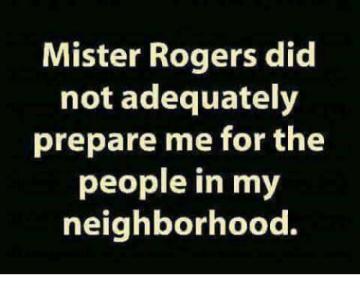 Mr. Rogers meme