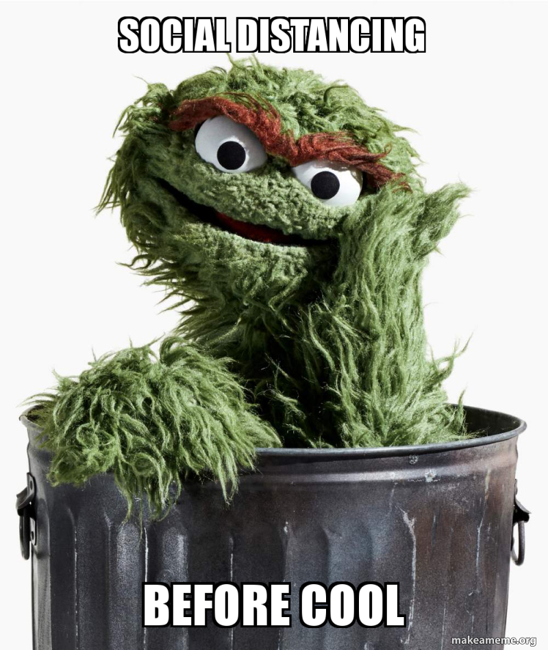 Oscar the Grouch meme