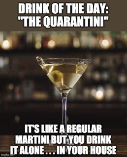 Quarantini meme