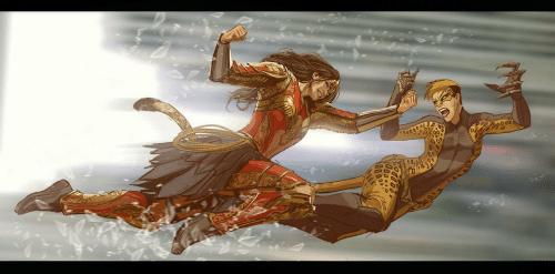 superhero-news-wonder-woman-vs-cheetah-by-nebezial-43369211